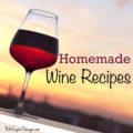 Dandelion Wine, Grape Wine and Cherry Wine Recipes