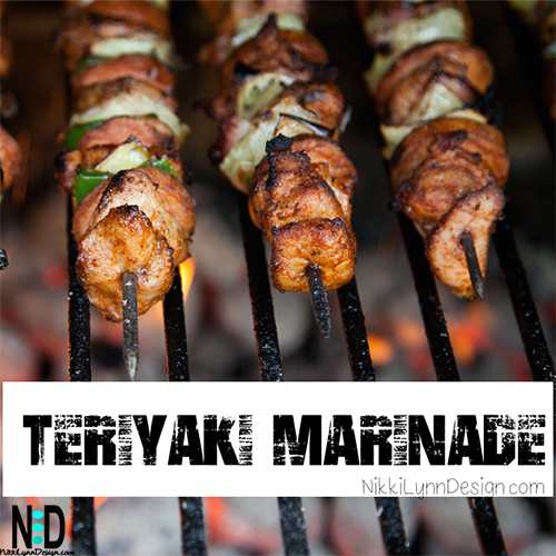 Teriyaki Marinade for Meat