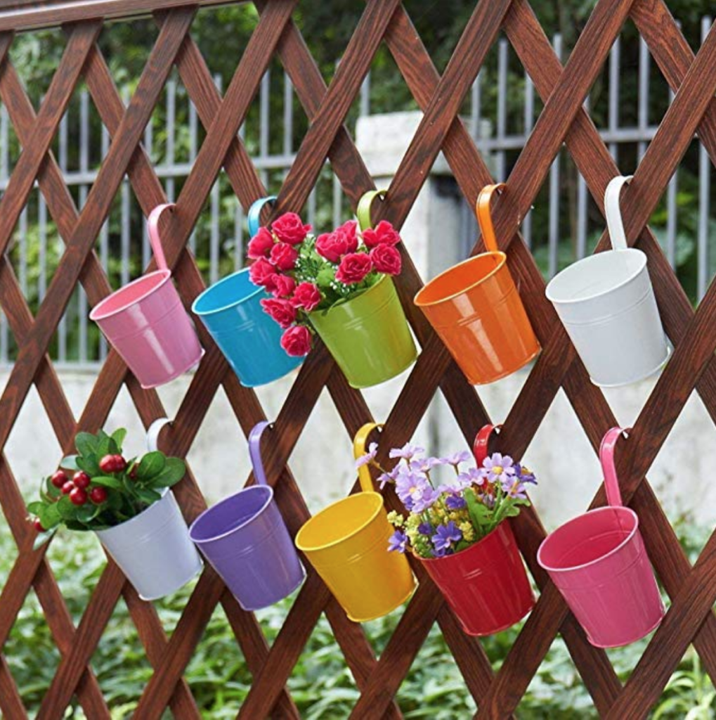 Hanging Fence or Deck Planters