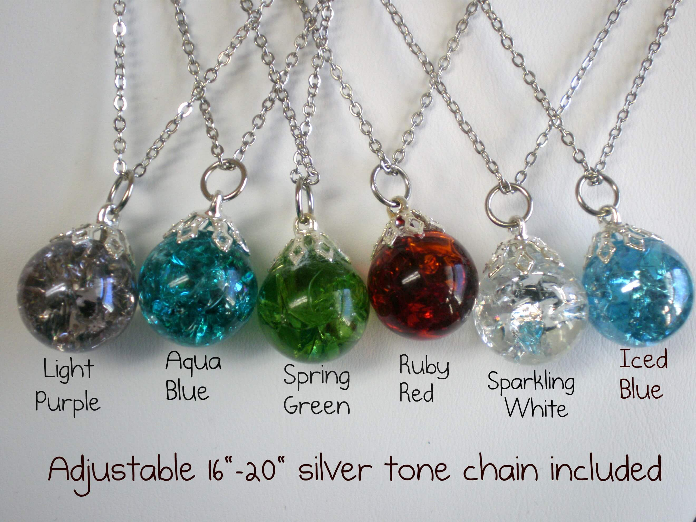how to make fried shattered marble necklaces nikki lynn