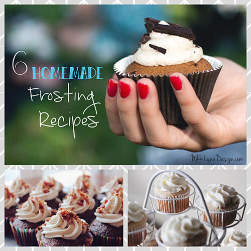 Homemade Frosting Recipes  6 homemade frosting recipes that take very little time to make and taste heavenly!  All of the recipes were passed down to me from my grandmother.  Who loved to bake treats for us anytime she had a chance.