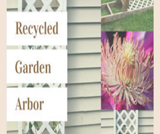 Trash to Treasures Garden Arbor