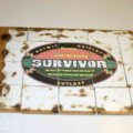 Survivor Puzzle Pattern - Print out any image or you can download and print my blank pattern on Nikkilynndesign.com. I printed out my husband's logo and then glued it to a board using Mod Podge. Then just cut out tiles using a jig saw. Update: I used a blowtorch to make the burnt, old look to the puzzle before I Mod Podged it.