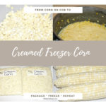 Fresh Creamed Freezer Corn