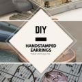DIY Handstamped Penny Earrings