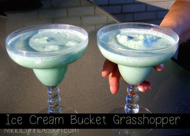 Grasshopper Ice Cream Drink Recipe Gallon
