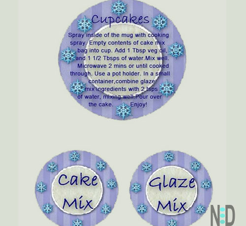 Coffee Cup Cupcake Gifts Recipe With Printable Tags
