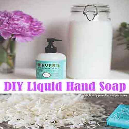 Liquid Hand Soap Recipe - If your household is like ours, we go through plenty of hand soap. The pump dispensers are the way to go. Before making my own we could go through a few bottles a month. Since I was purchasing mine at a dollar type store, it wasn't a huge cost to us. Who thinks spending $2.00 – $3.00 ($25-$30 a year) on soap is a large cost. Turns out, you don't even have to spend that. About four dollars is really all it takes.