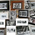 Black and White Alphabet Letter Photography