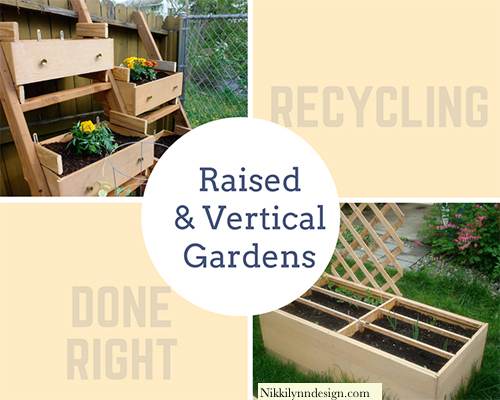 Raised Garden Bed Out of Dresser