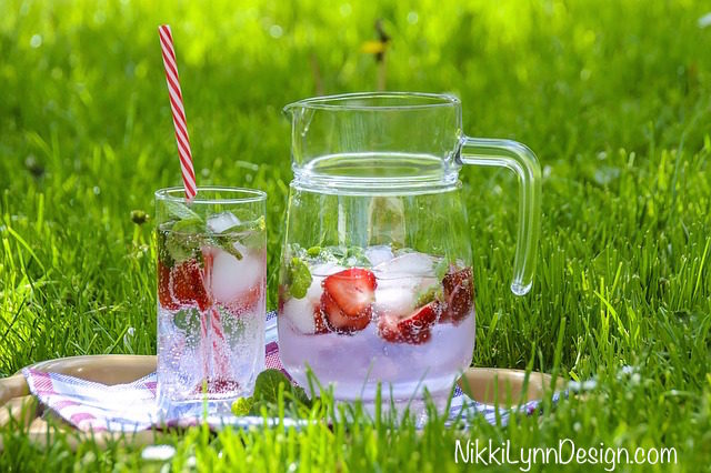Infused Water Recipes - Strawberry Water