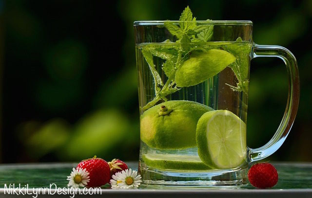 Infused Water Recipes - Lemon Water