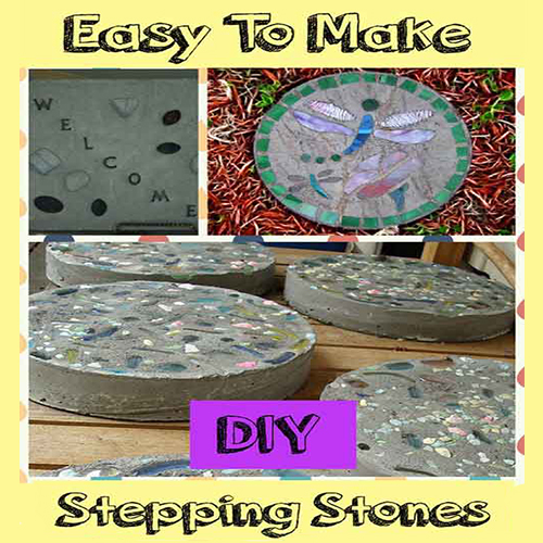 Easy Stepping Stones for the Garden