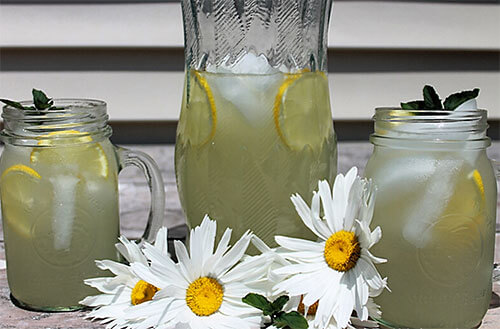 Nothing screams summer more than kicking back and relaxing with a glass of ice cold lemonade. It's twice as nice with homemade fresh squeezed lemonade using a simple sugar syrup.
