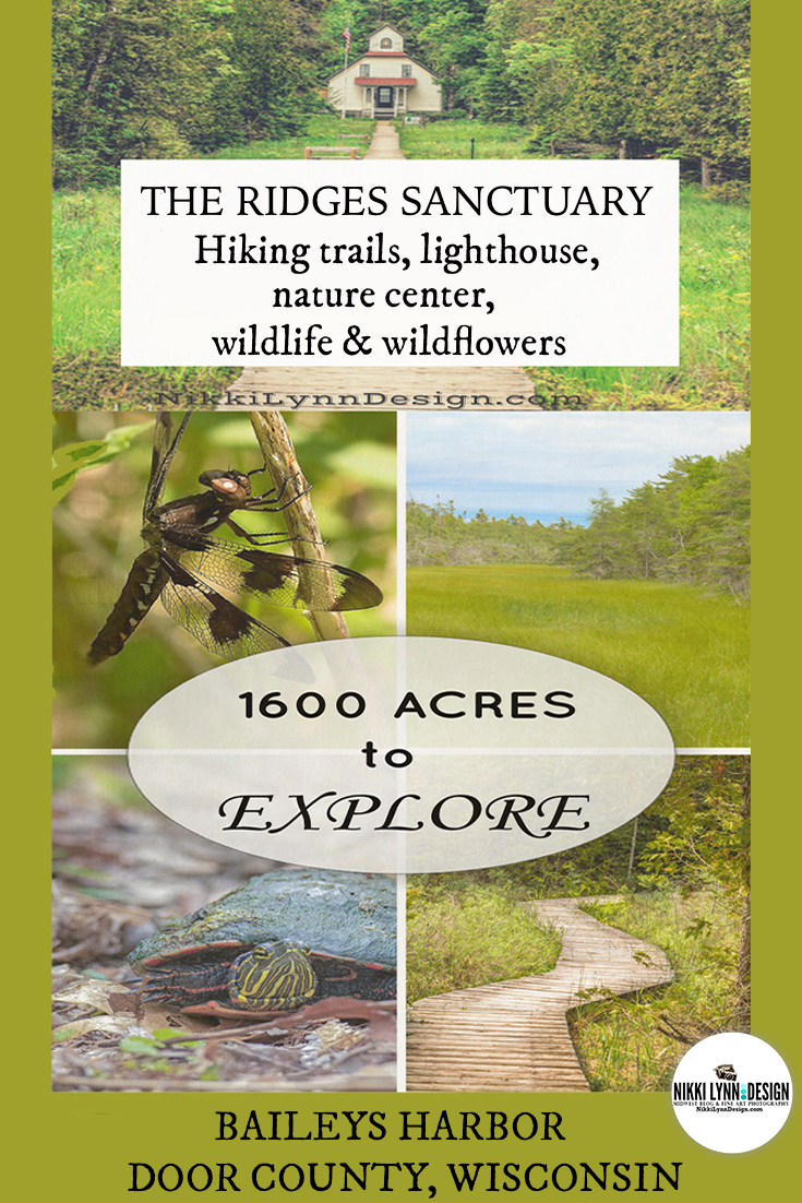 The Ridges Sanctuary a Door County Nature Preserve. Hiking trails & plant life