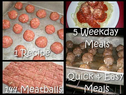 Meatballs - Recipe Will Make 144 Meatballs