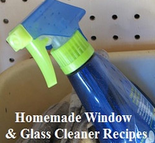 Window Cleaner Recipe