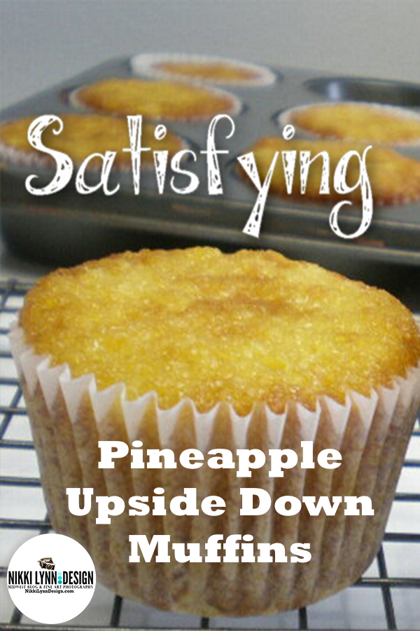 Pineapple Upside Down Muffin Cakes