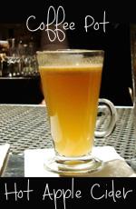 Coffee Pot Apple Cider