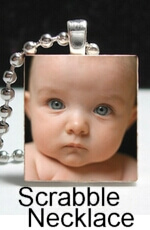 Photo Scrabble Necklaces - Use a photo on your pendant to make cute, personalized gifts for family and friends.