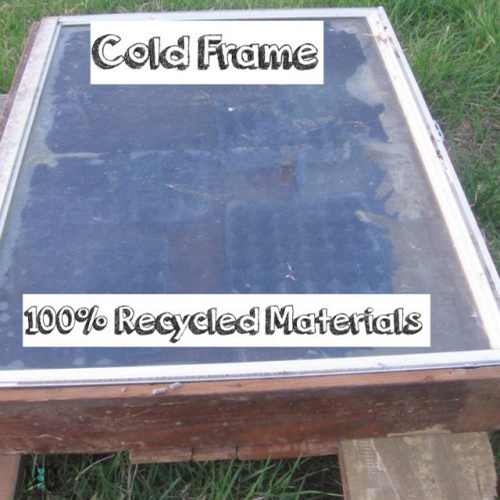 Cold Frame Garden Using Recycled Materials