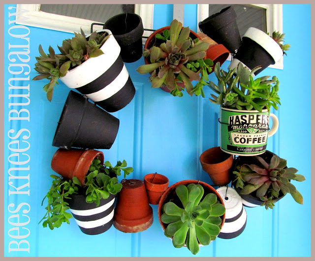 Potted Wreath