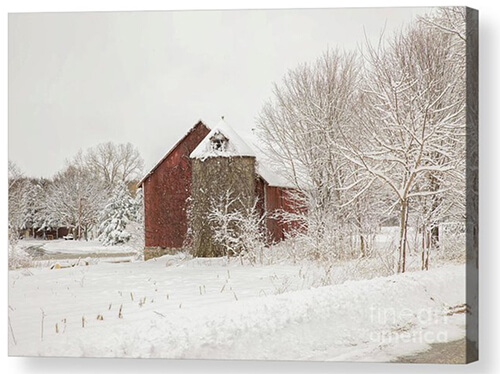 The Red Barn Made Me Do It - I pulled off on the side of a county road to take a picture of this barn in Brown County, WI. As I was grabbing my camera out of the back of my car an officer stopped and asked if I needed help. It was a nice gesture.
