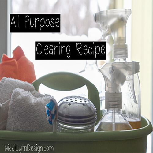 All Purpose Cleaner Recipe