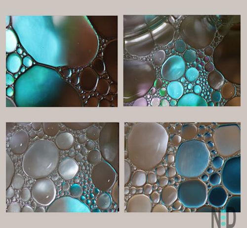 Bubble Abstract Wall Art Prints