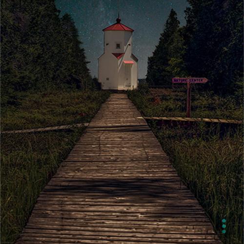 Baileys Harbor Lighthouse Door County, Wisconsin