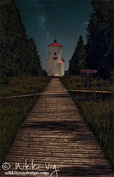 Baileys Harbor Lighthouse Photography Print Door County Wisconsin