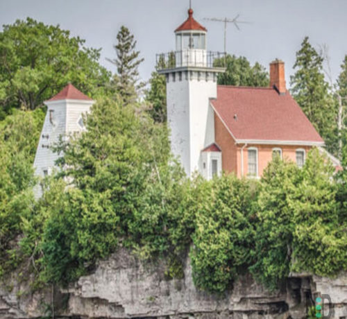Sherwood Point Lighthouse Sturgeon Bay Door County Wisconsin