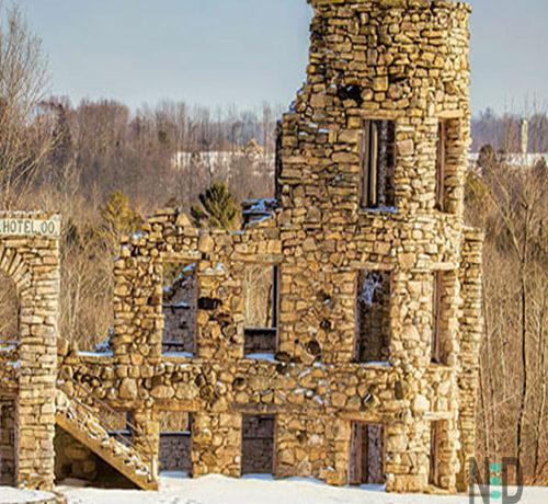 Maribel Hotel Hell Old Building Manitowoc Wisconsin