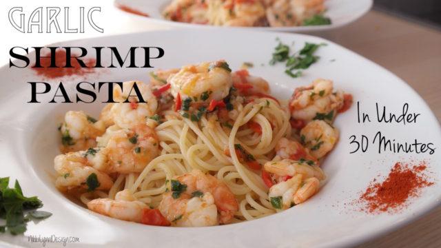 garlic-shimp-pasta