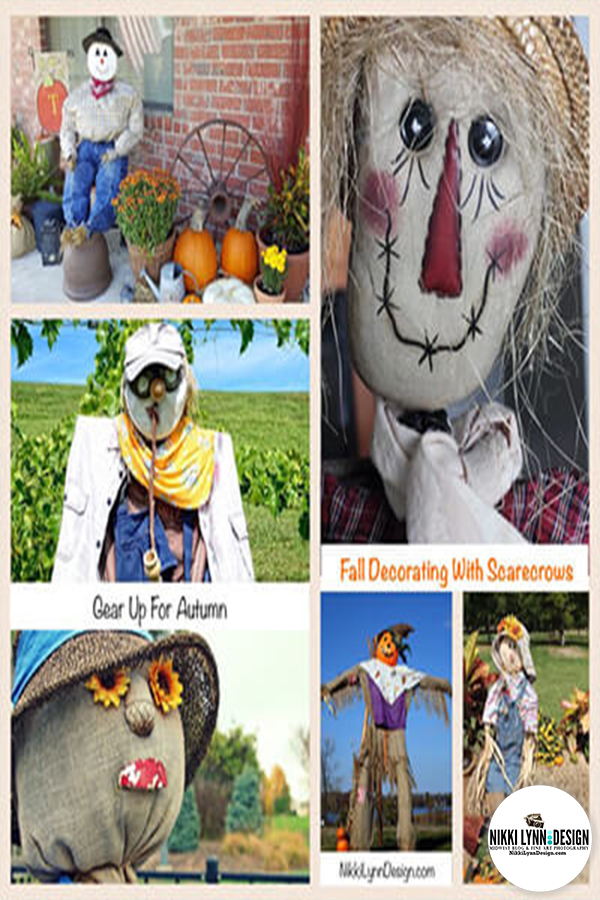 Scarecrow Ideas For Fall A collection of outdoor scarecrow ideas from my private photography files The scarecrow ideas for fall collection is finally making it's way out of the darkness and into the light. Just in time for fall decorating.