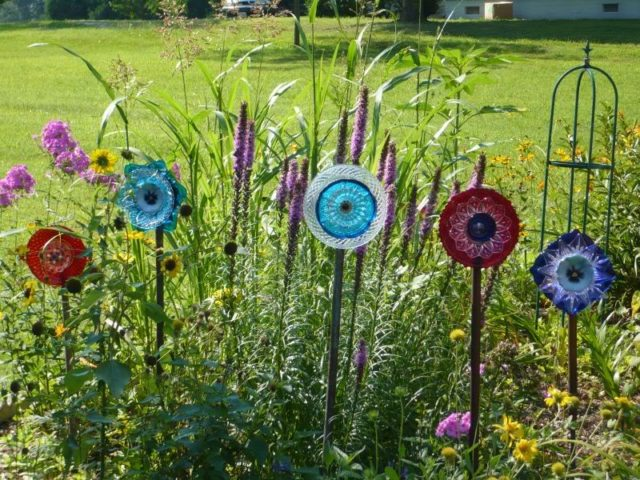 Plate Garden Flower Craft