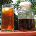 Refrigerator Tea Sometimes you need to sit back enjoy the view. Reaping the rewards of your hard work. Days like this, I enjoy sipping on my refrigerator tea recipe. Instead of traditional sun tea, I make refrigerator tea.
