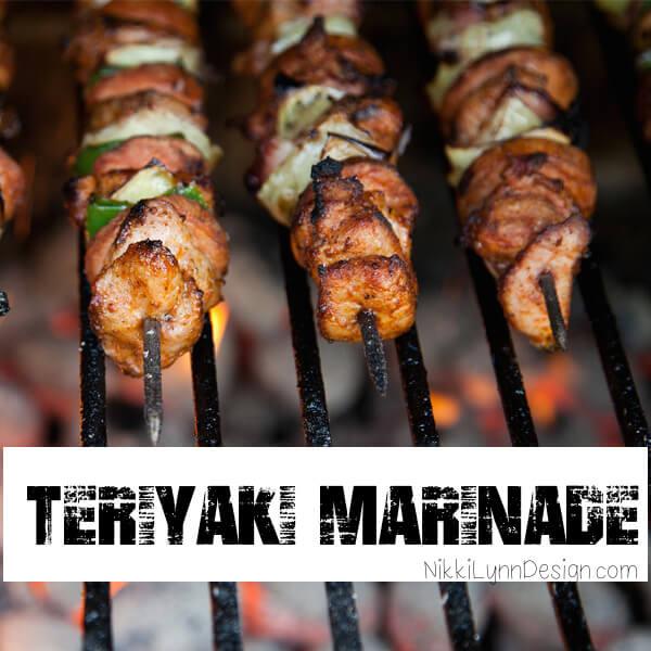 Teriyaki Marinade for Meat