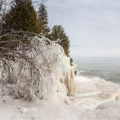 Cave Point County Park - Door County, Wisconsin Awesome ice formations in the winter.