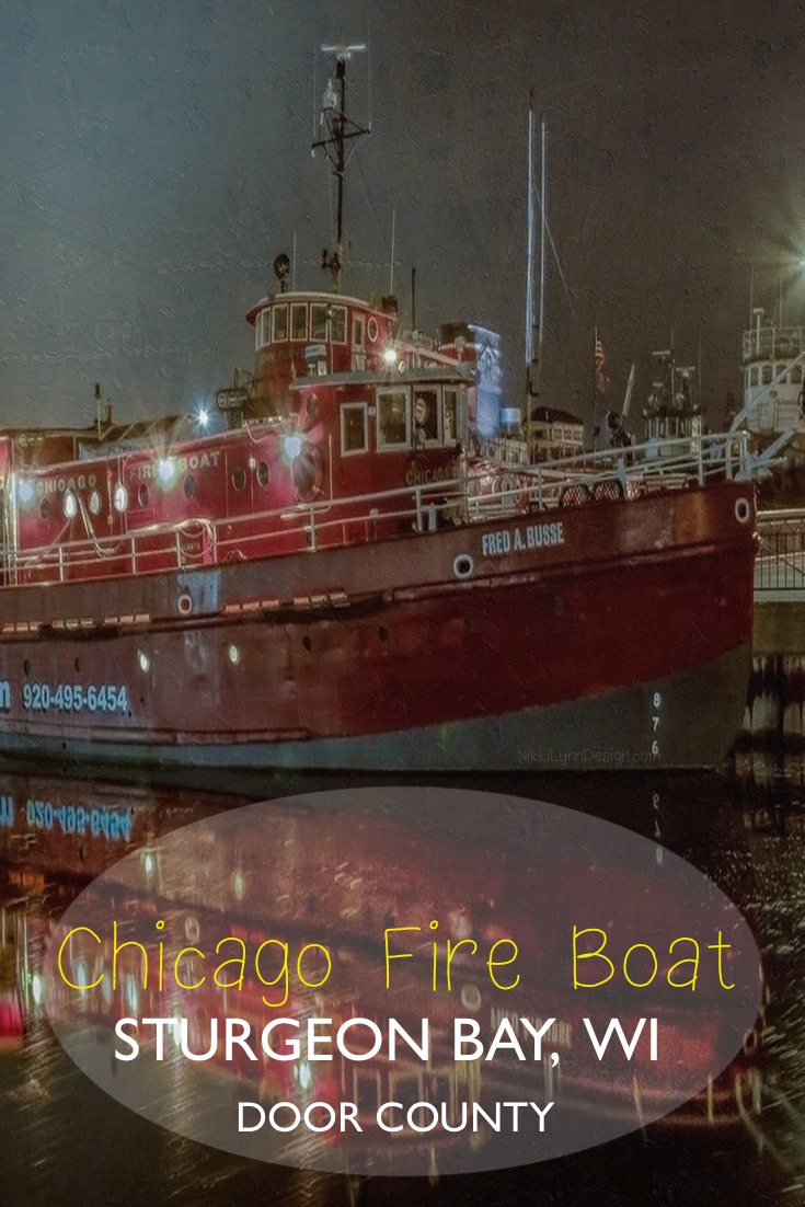 Fred A Busse Chicago Fire Boat