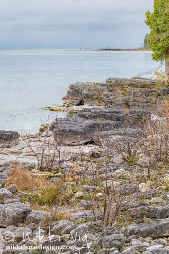 Toft Point Shoreline Door County Wisconsin Photography