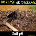 Increase or Decrease Your Soil pH pH represents how acidic or alkaline it is. Soil pH is determined on a scale from zero to 14, with seven being a neutral pH that is neither acidic nor alkaline. If your soil pH is outside the range of 6.0 to 7.0 you may need to increase or decrease your soil pH. Why Do You Need To Check & Change Soil pH?