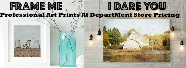 Frameable Photography - Professional art prints at department store pricing.