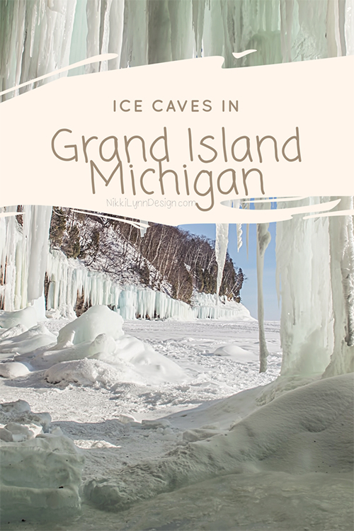 Grand Island Michigan Ice Caves - Upper Michigan Travel in Winter