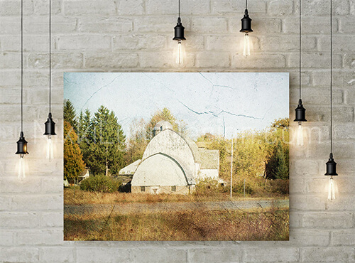 Sweet fields barn- Fine Art Photography Print