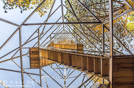 Mountain Fire Lookout Tower in Mountain Wisconsin