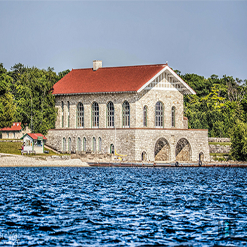 Rock Island Wisconsin Boathouse