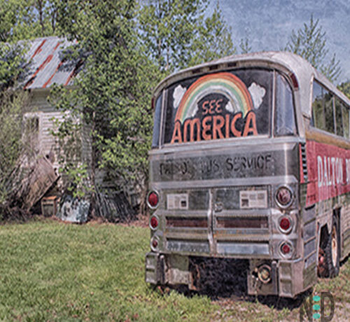 See America Old Bus