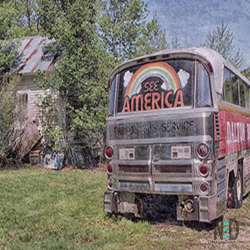 See America Old Bus