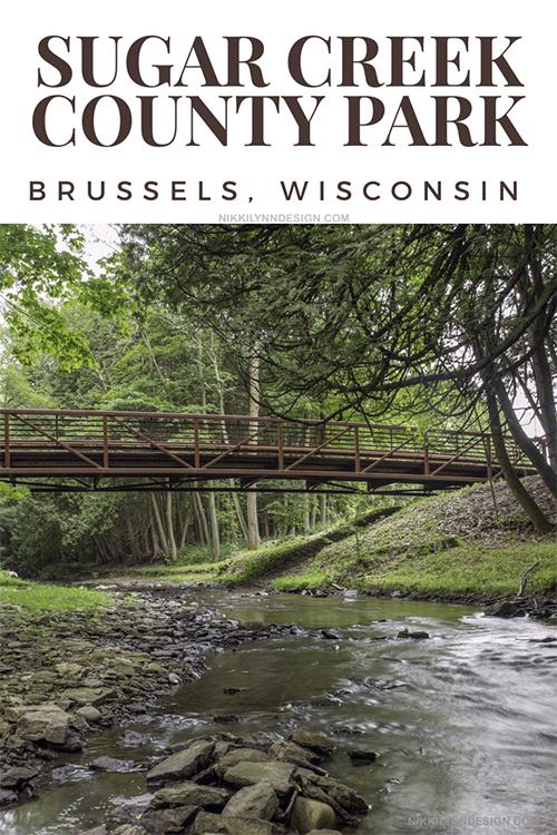 Sugar Creek County Park in Brussels Wisconsin Southern Door County